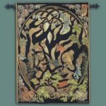Woodland Fox Fine Art Tapestry 26″x36″