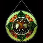 Tree of Life Green Stained Glass