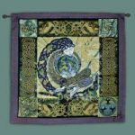"Anu Earth Mother Fine Art Tapestry 35""x35"""
