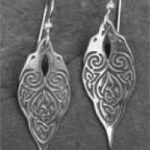 Silver Raven Earrings