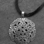 Silver Pentacle Knot Large Pendant